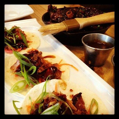 Duck tacos & Miami short ribs
