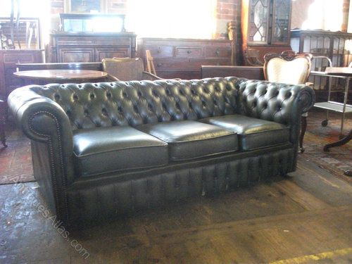 Genial Grunes Leder Chesterfield Sofa Grun Leder Chesterfield Sofa