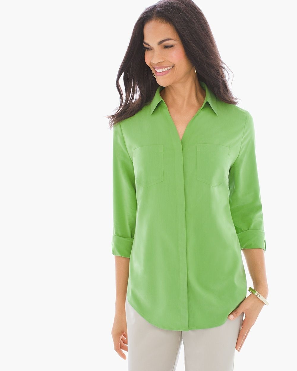 5f928d0e6 Chico s Women s Silky Soft Relaxed Shirt