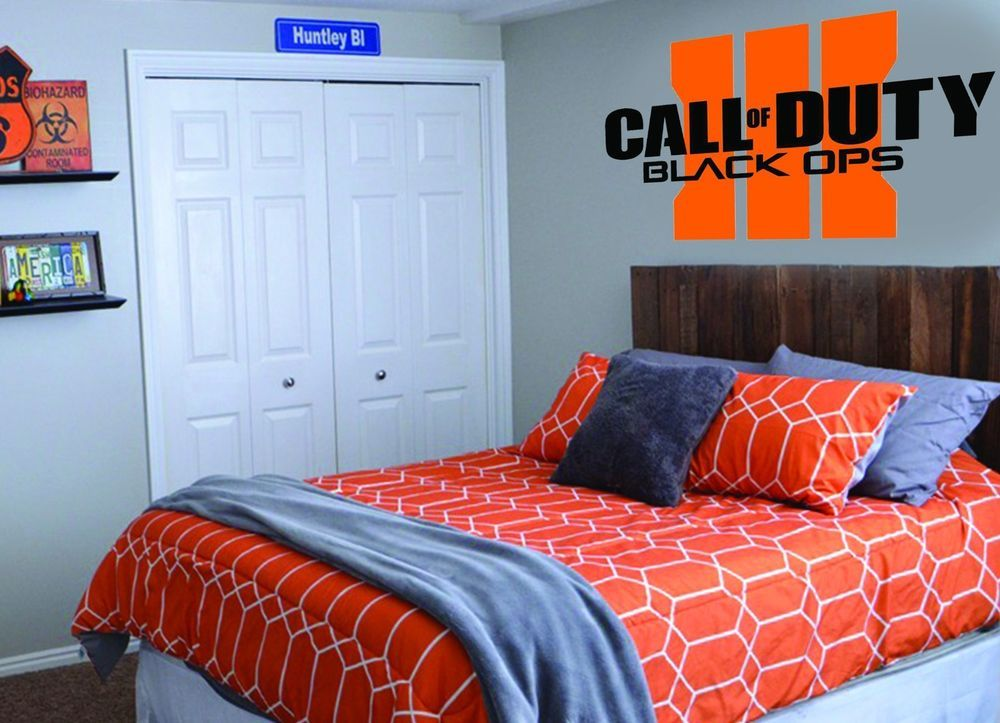 call of duty black ops iii custom wall decal bedroom art on wall stickers id=30281