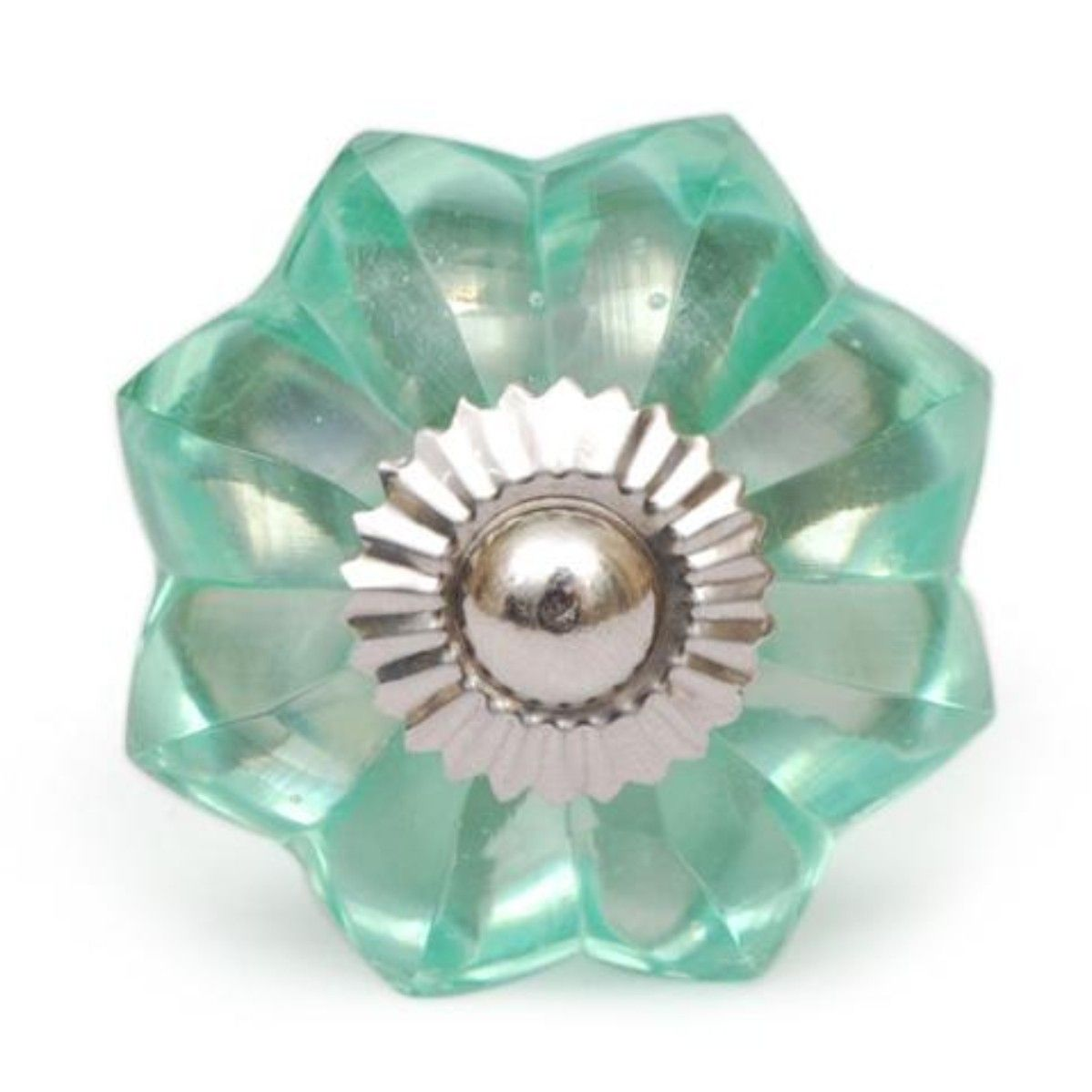 Elegant Green Floral Door Cabinet Glass Knob Knobco with size 1199 X ...