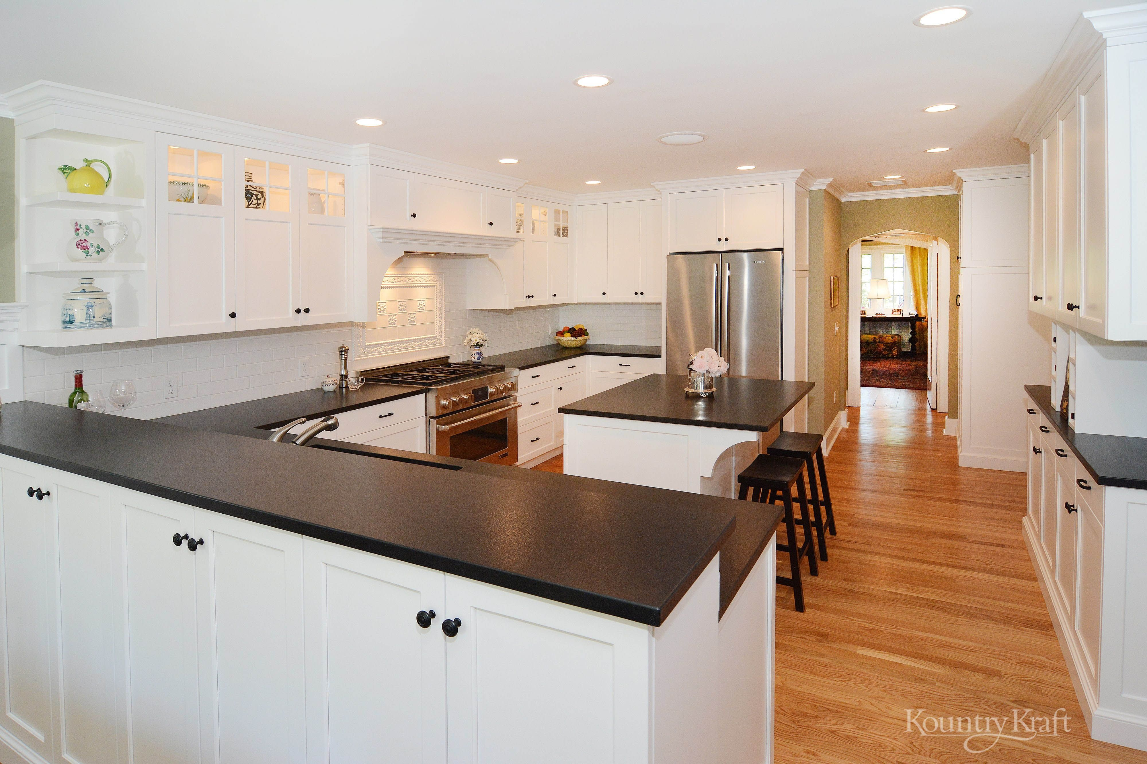 Custom Kitchen Cabinets Designed By Justin Sachs Of Stonington Cabinetry Designs In Mad Kitchen Cabinetry Design Kitchen Design Small Custom Kitchen Cabinets