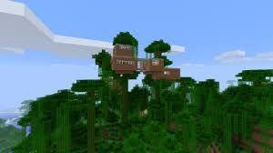 Bildergebnis Für Minecraft Baumhaus