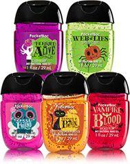 Halloween Fun 5 Pack Pocketbac Sanitizers Soap Sanitizer Bath
