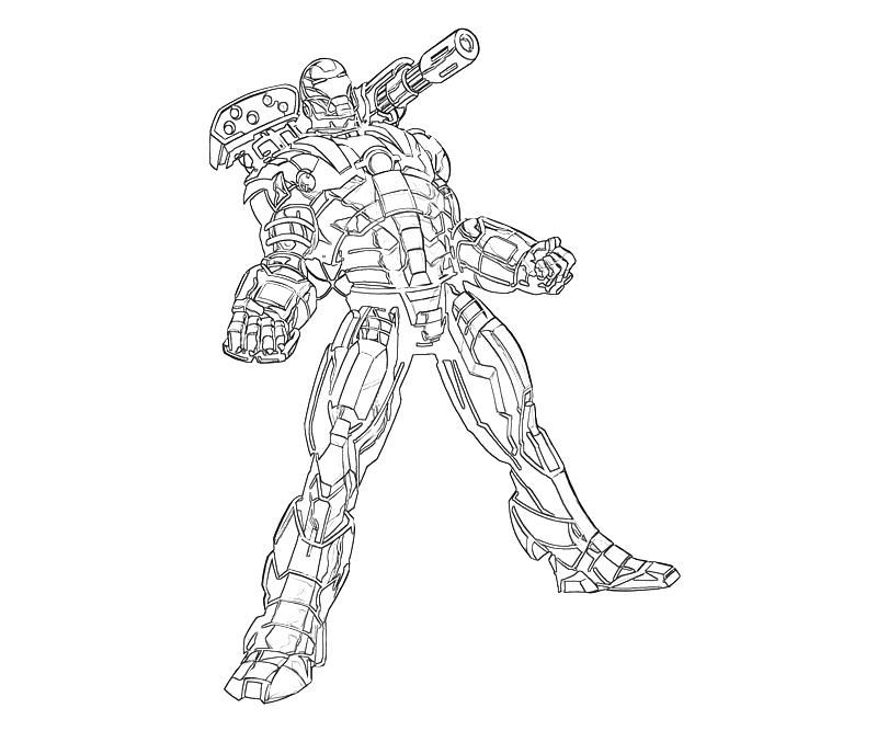 War Machine Coloring Pages Marvel Coloring Coloring Pages Toddler Drawing