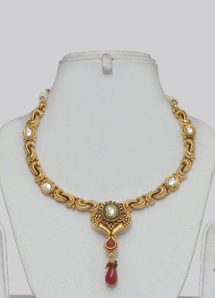Indian Jewelry Design Latest Design Gold Plated Polki Indian
