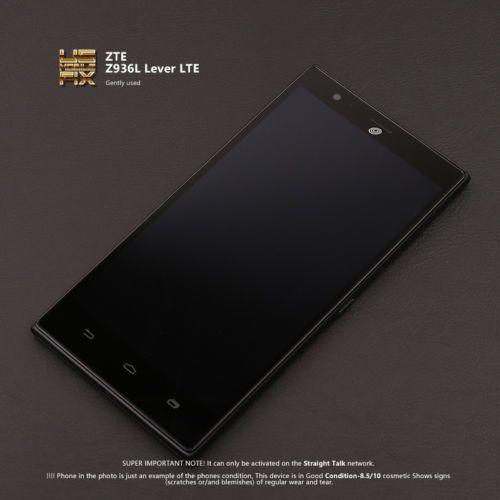 Used Smartphone ZTE Z936L Lever LTE 16 GB Straight Talk Cellphone Clean ESN  https://t.co/T4FudIrz4U https://t.co/lOzpMYECEA