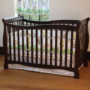 Carter S Child Of Mine 4 In 1 Convertible Crib Chocolate Walmart