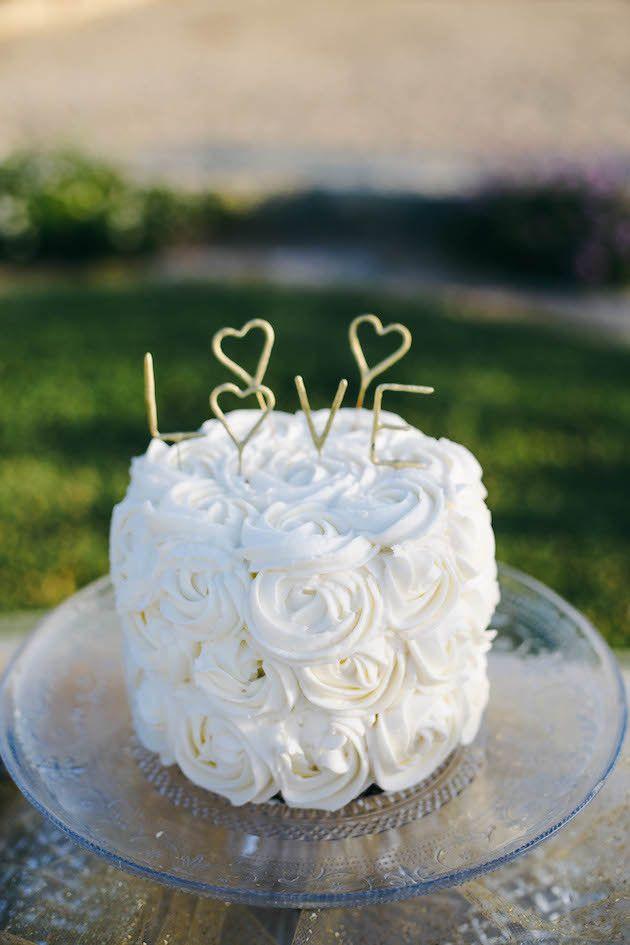 Trend Alert: 25 Gorgeous Ideas for Single Tier Wedding Cakes ...