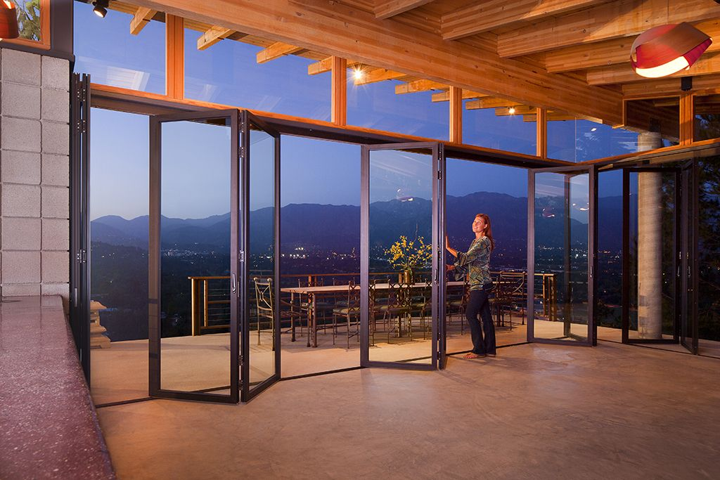 glass wall door systems