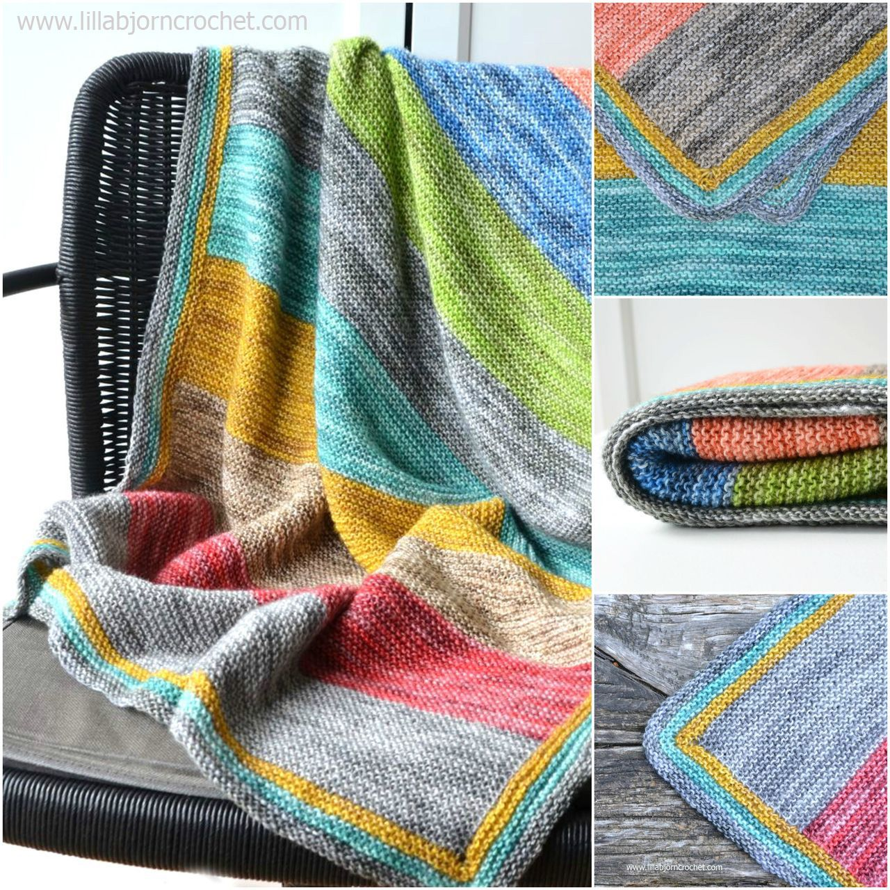 Forest Spirit Baby Blanket: free knitting pattern | Easy knitting ...