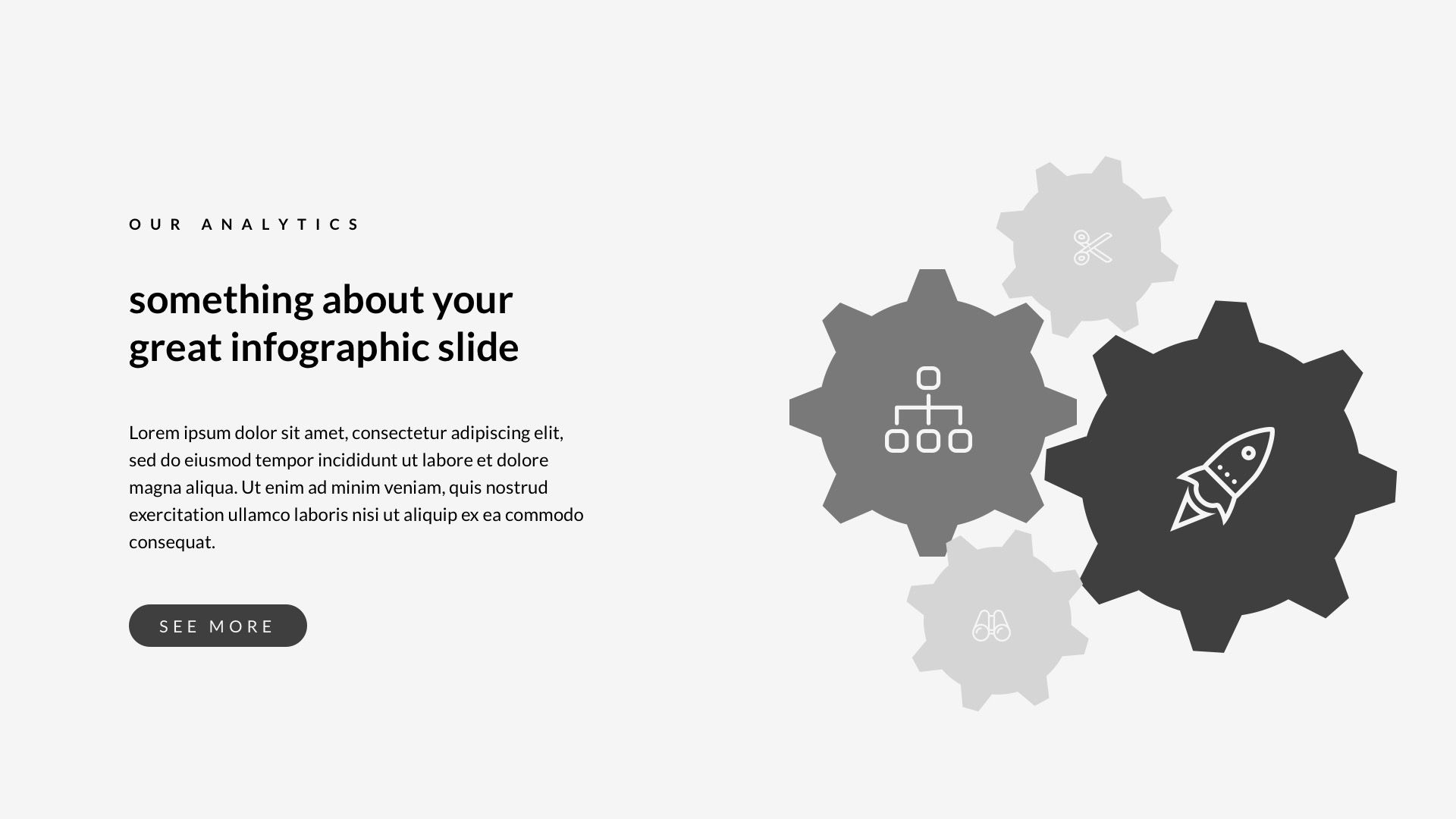 rustic creative google slide template pinterest 3d design