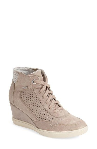 88ecb469918 Free shipping and returns on Geox  Eleni 8  Suede Wedge Sneaker (Women) at  Nordstrom.com. Bring out your street style with this sophisticated