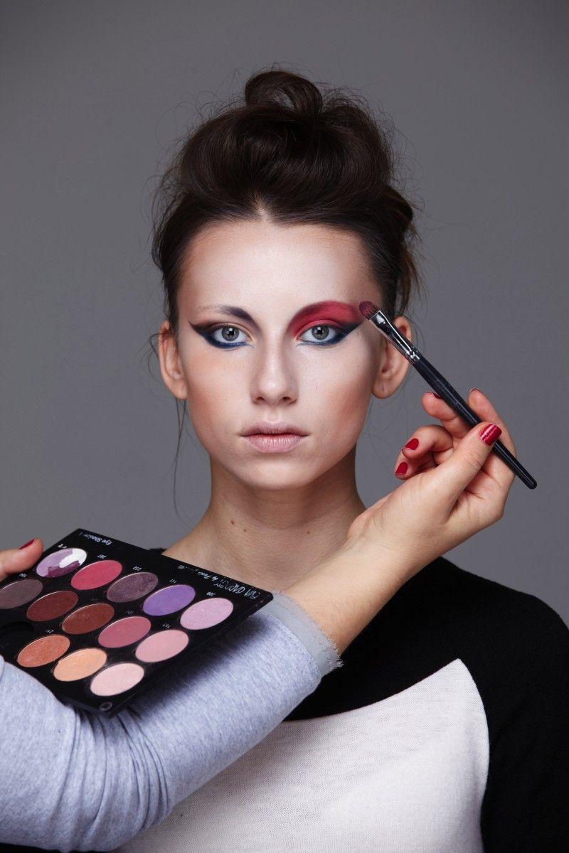 Авангардный макияж фото работа моделью в люберцы