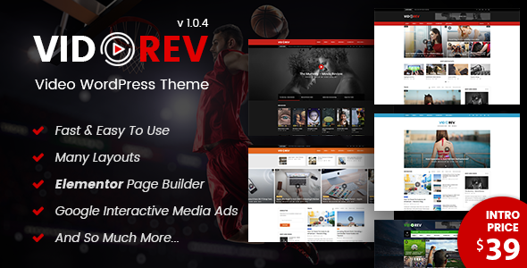 Vidorev Video Wordpress Theme Vidorev Video Revolution Is A Responsive Wordpress Theme B Wordpress Theme Responsive Wordpress Video Theme Wordpress Theme