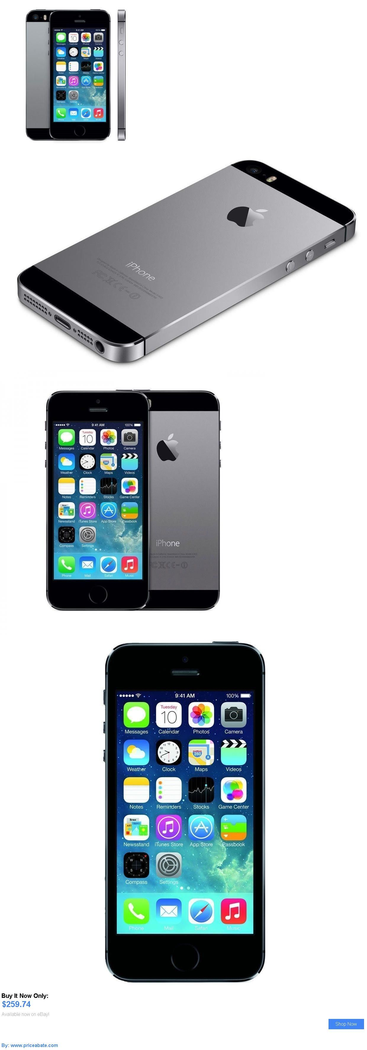 Cell Phones Iphone 5s 16gb Space Gray Factory Unlocked Black Gsm 16 Gb Apple 5 S