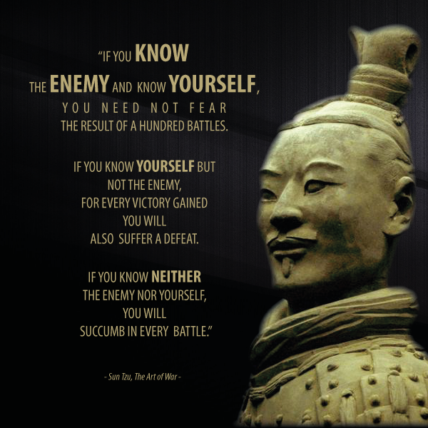 Quotes from Sun Tzu's