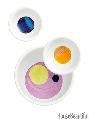 House Beautiful Product of the Day - Sara Bengur Colorful Bowls