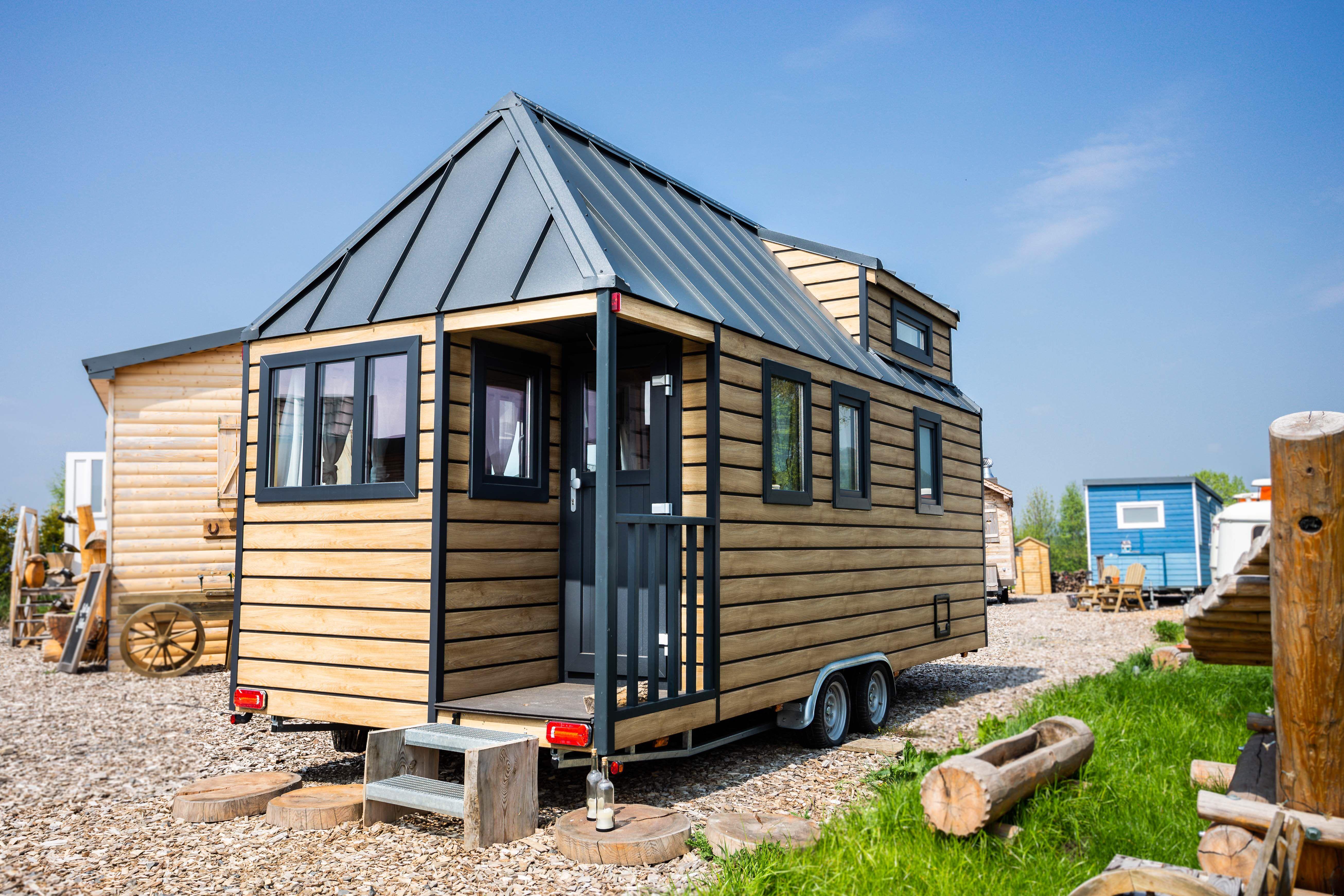 Mobiles Tiny House Australien House Haus Haus Auf Radern