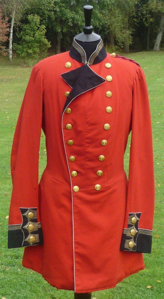 Original British army blue dress belt coat jacket military uniform tunic navy
