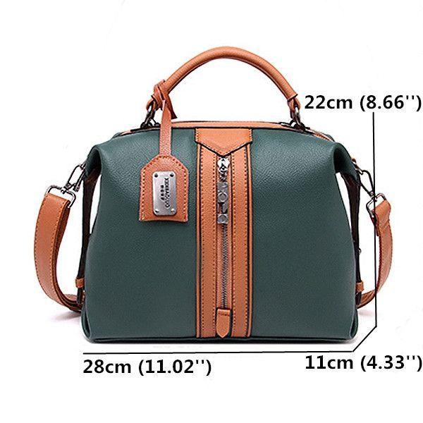 6f02f408132f Hot-sale designer Women Soft Casual Crossbody Bag Large Capacity Boston  Handbag Online - NewChic  largehandbagsonline