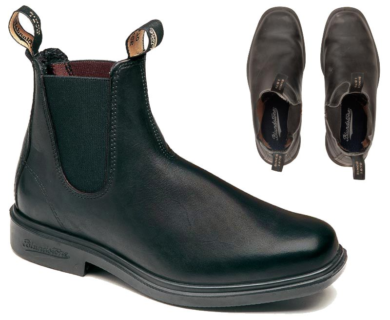 Blundstone 068 Chisel Toe Dress Black | Blundstone boots
