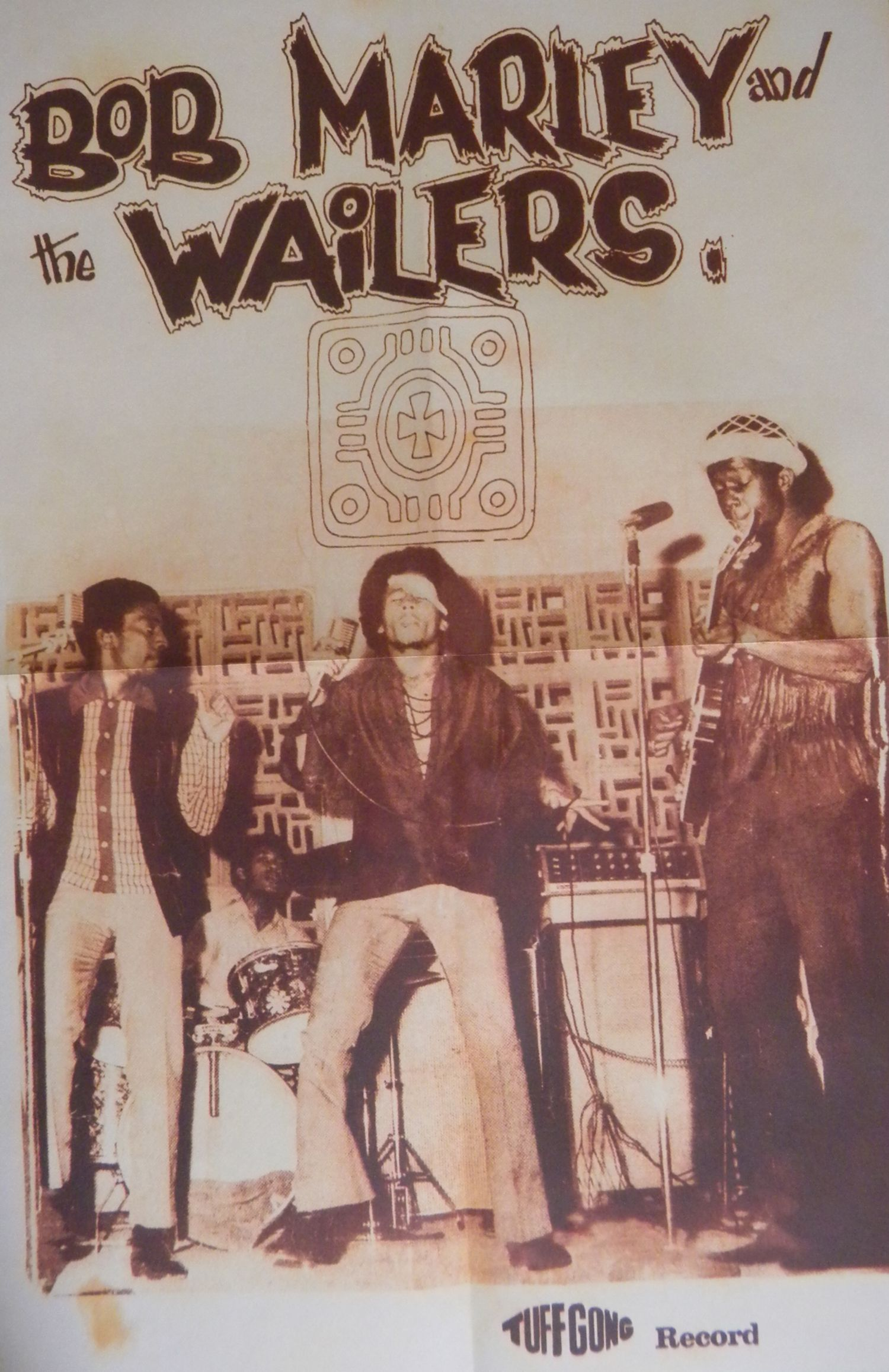 Complete Wailers promo poster.....