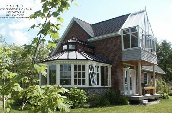 Freeport Maine conservatories and garden rooms Sunroom