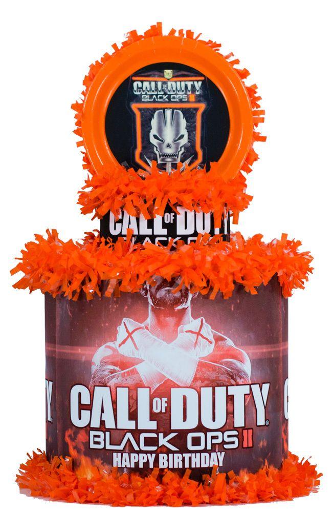 World of Pinatas - Call of Duty Black Ops 2 Personalized Pinata, $39.99 (http://www.worldofpinatas.com/call-of-duty-black-ops-personalized-pinata/)