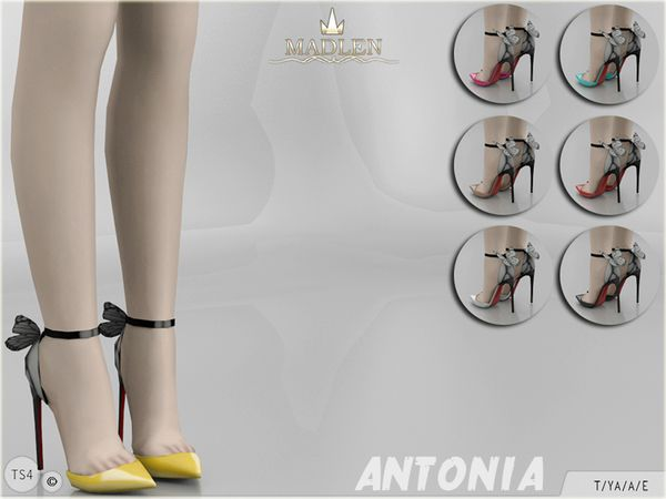 Madlen Antonia Shoes by MJ95 at TSR • Sims 4 Updates
