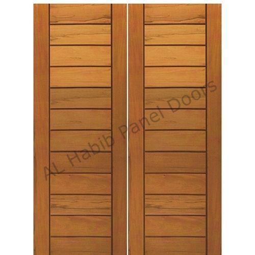 Main Double Door Solid Wood Hpd402 Main Doors Al Habib Panel