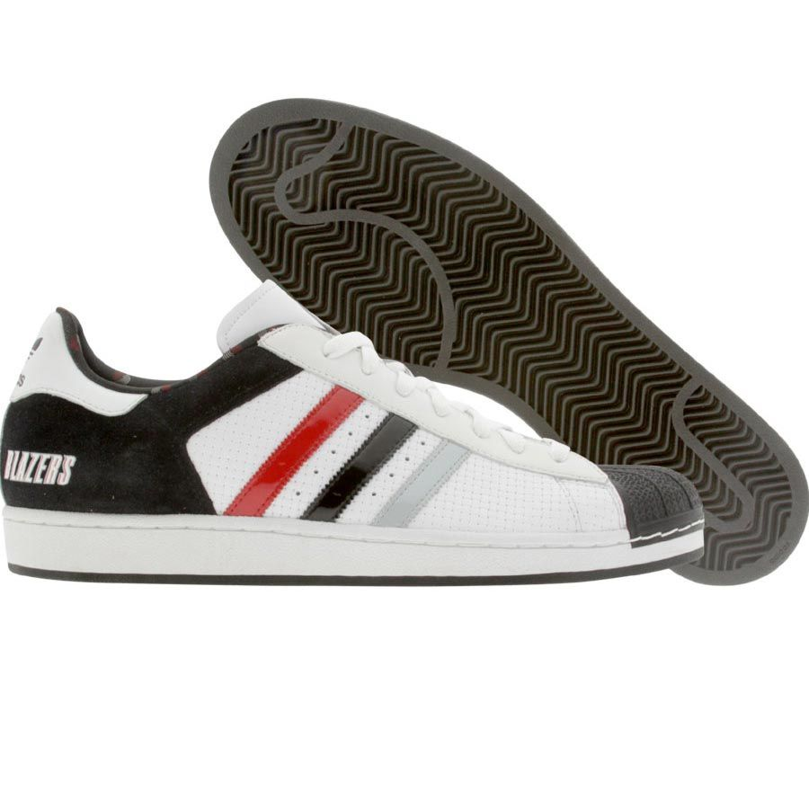 official photos 28222 72fd0 Adidas Superstar 1 NBA Series Portland Trail Blazers Edition