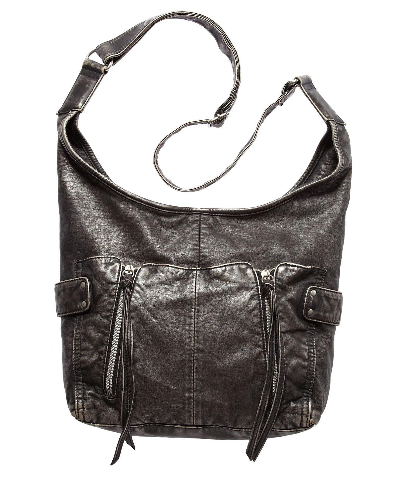 American Rag Handbag Sunny Crossbody Hobo Bag Handbags Accessories Macy S But In The Gray