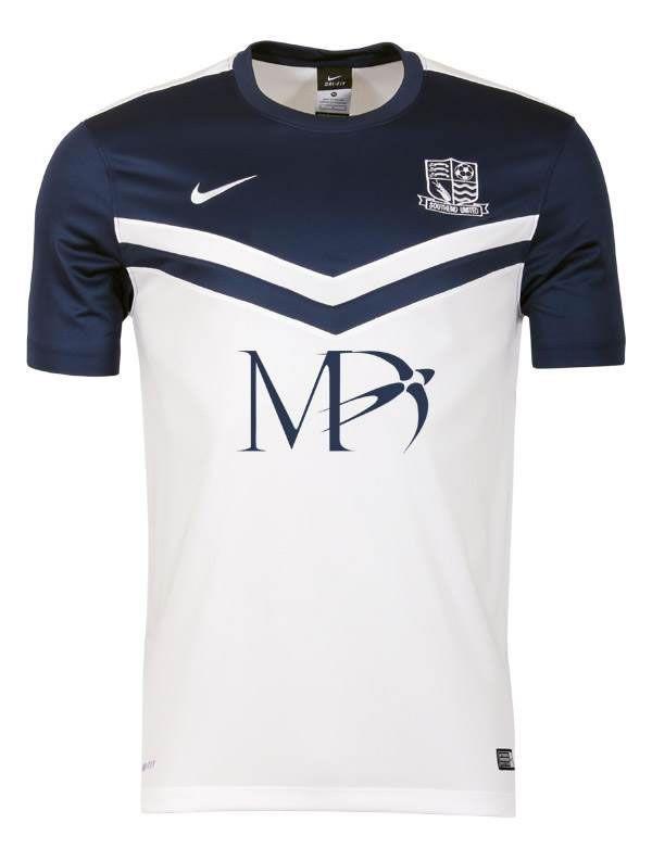 Southend United 2014-15 Nike Home Kit