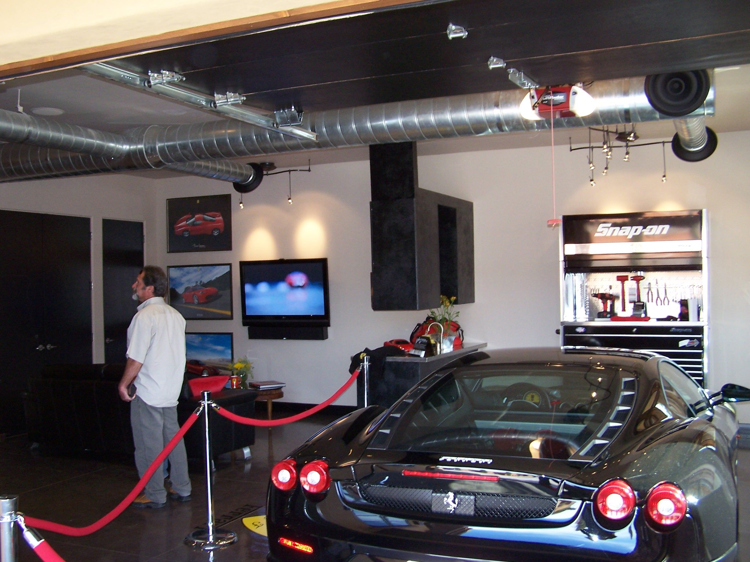 Man cave garage garages and other man domain ideas for Man cave garage
