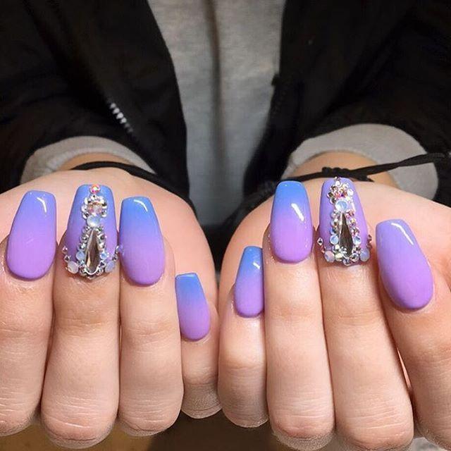 kiaraskynails Dreamcatcher ombre gel polish | Stilettos | Pinterest ...