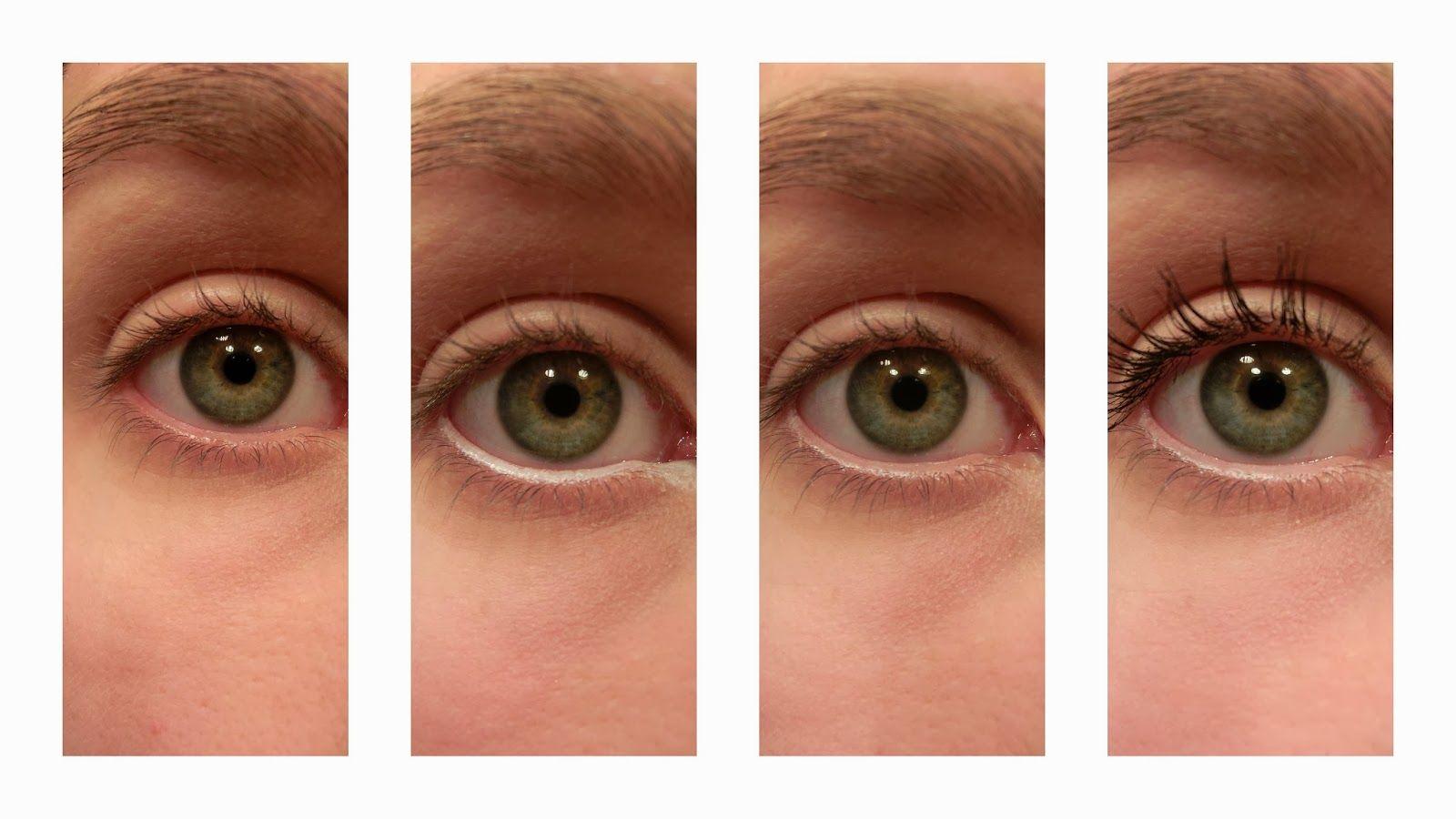 Müde Augen - weißer Kajal