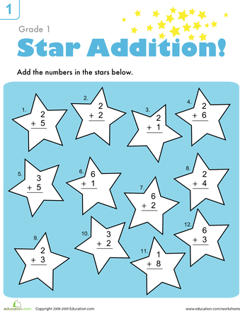 Addition Facts Practice | Addition facts, Worksheets and Maths