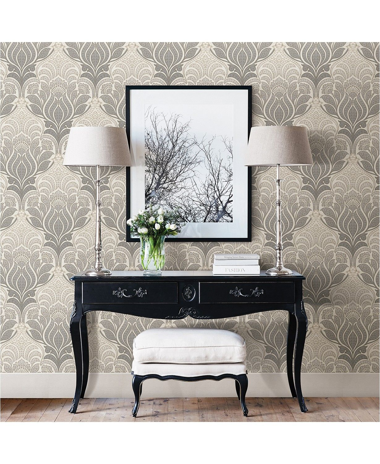 Brewster Home Fashions Charisma Peel And Stick Wallpaper Reviews Wallpaper Home Decor Macy S Nuwallpaper Peel And Stick Wallpaper Decor