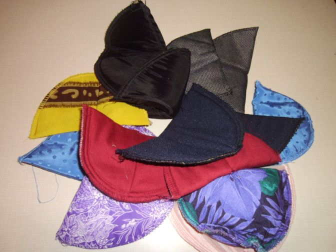 Shoulder pad upcycle! Sing the praises of pads!  :)