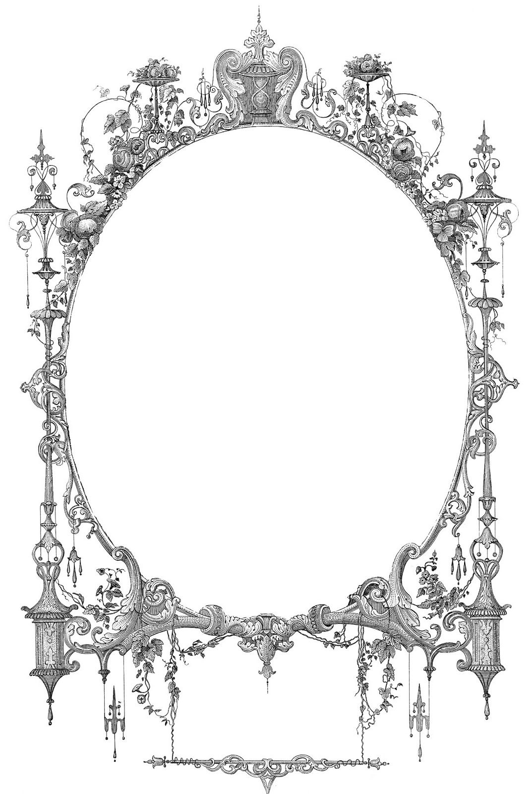 Antique Clip Art Ornate