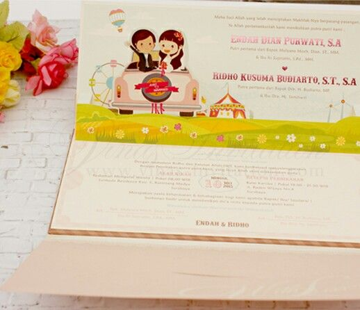 Vinas invitation wedding invitation unique invitation souvenir wedding invitation unique invitation souvenir wedding surabaya invitation anime stopboris Gallery