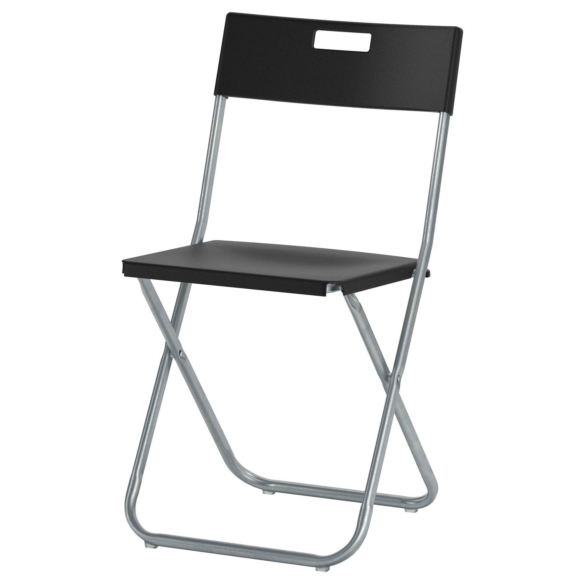 Tarendo Gunde Tisch Und 4 Stuhle Schwarz Klappstuhl Stuhl