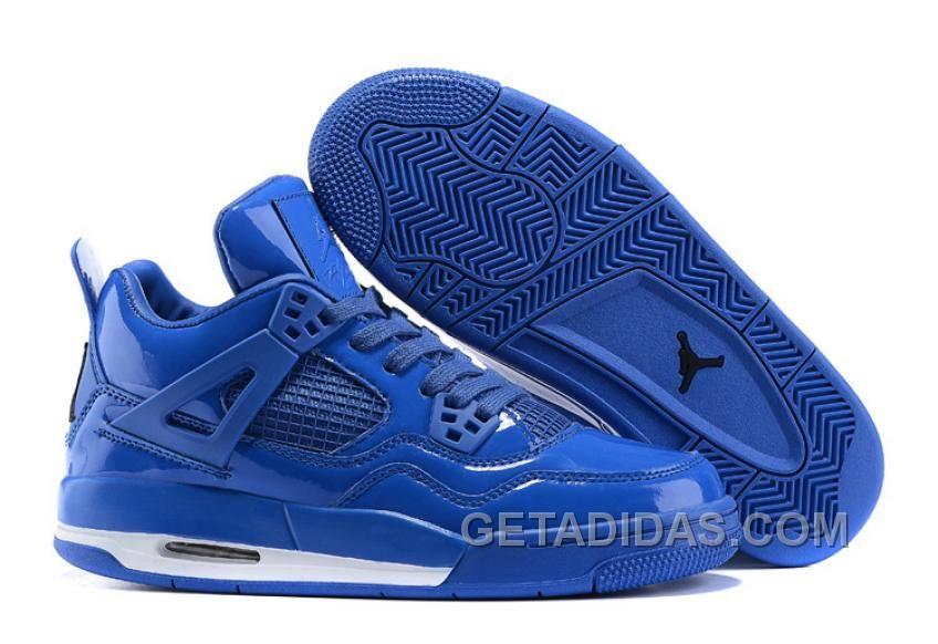 2015 New Air Jordan 4 Retro 11Lab4 Royal Blue Shoes