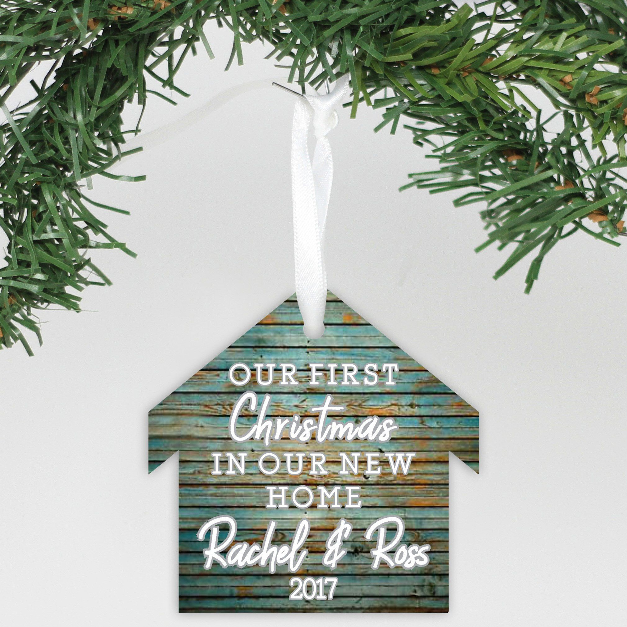 First Christmas in our NEW HOME tree decoration Keepsake Gift