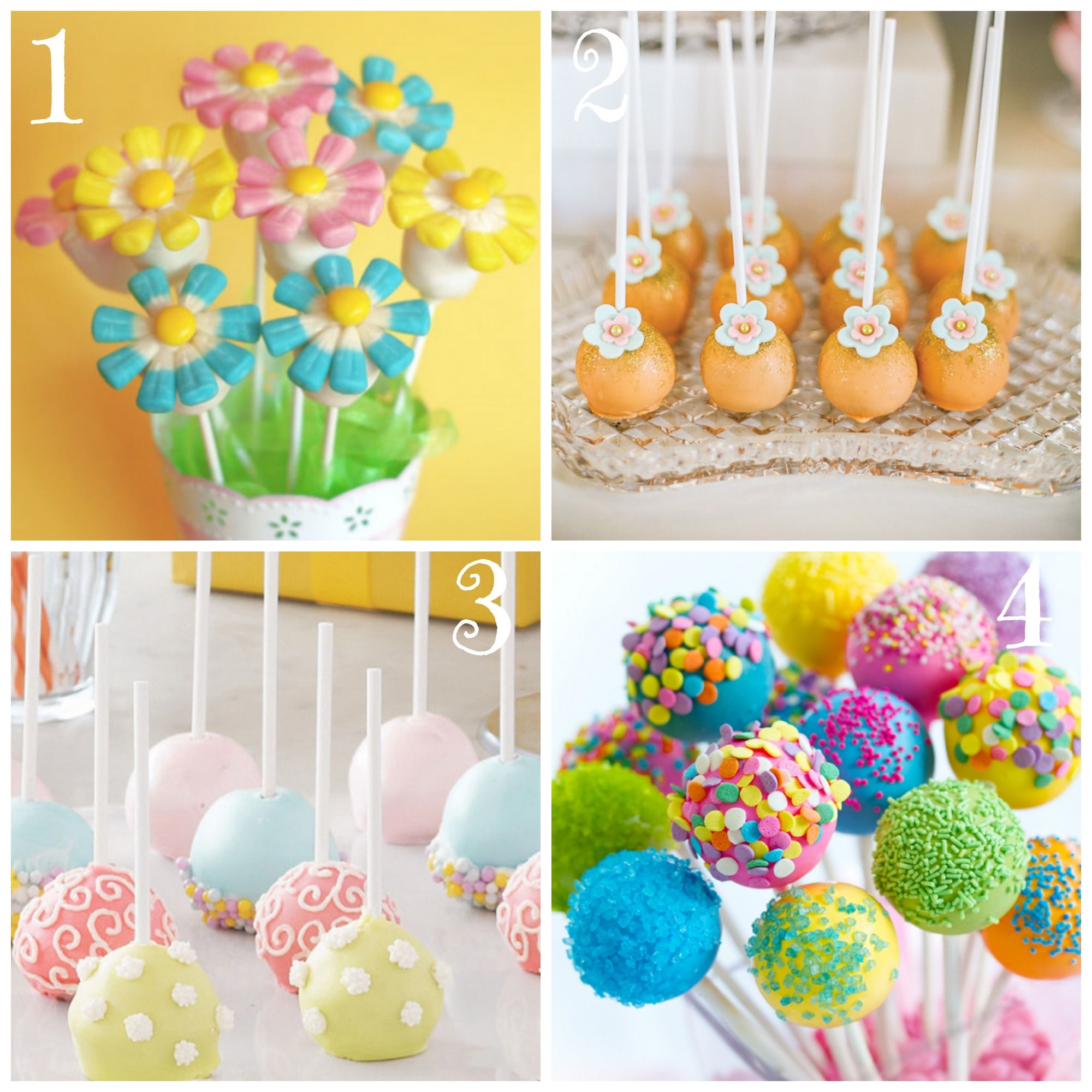 Cake Pops Easy Decorating Ideas : Top 8 Festive Spring Cake Pops Spring cake, Cake pop and ...