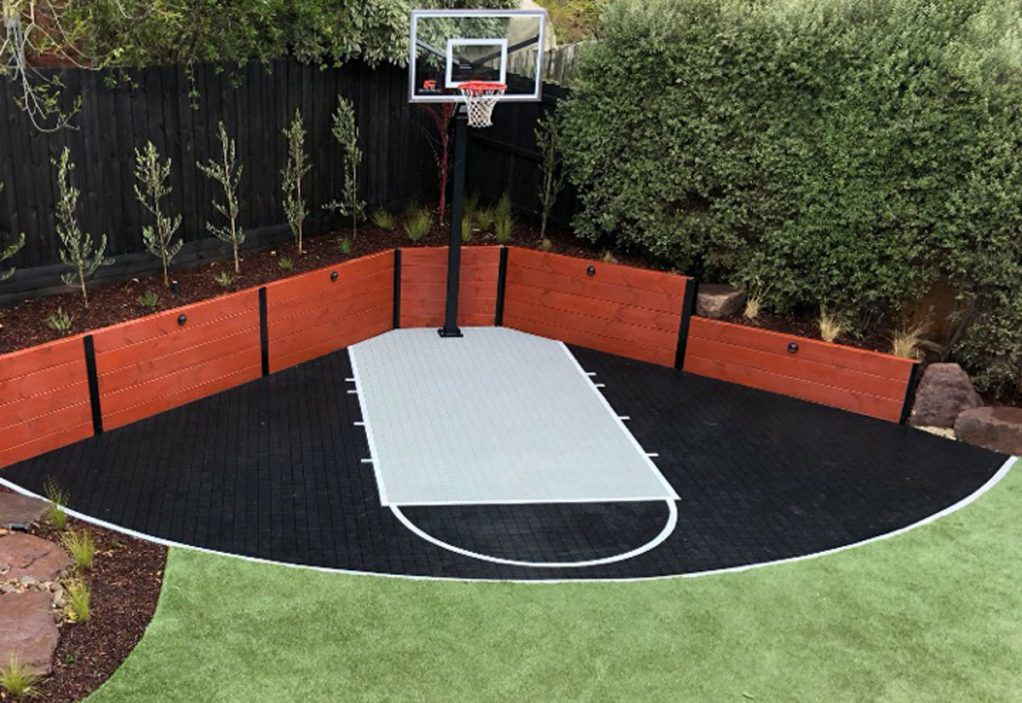 Ideas Of Backyard Basketball Court Home Ideas Utility Collective In 2020 Backyard Basketball Basketball Court Backyard Backyard Renovations