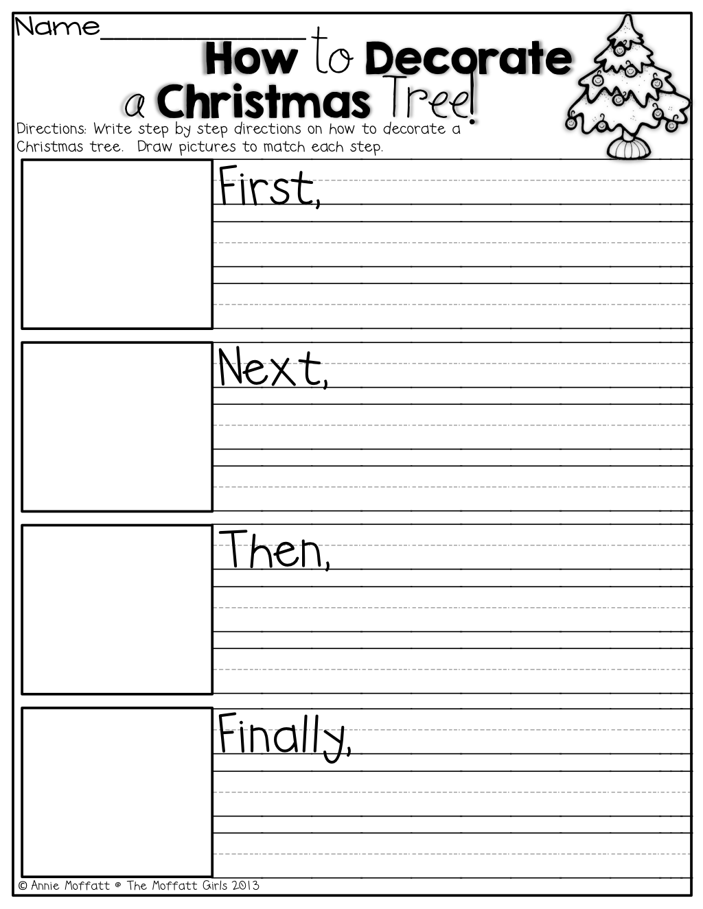 small resolution of Christmas Graphing Worksheets First Grade   Printable Worksheets and  Activities for Teachers