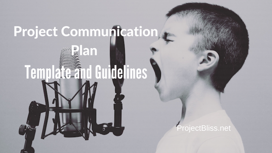 Project Communication Plan Template And Guidelines  Template