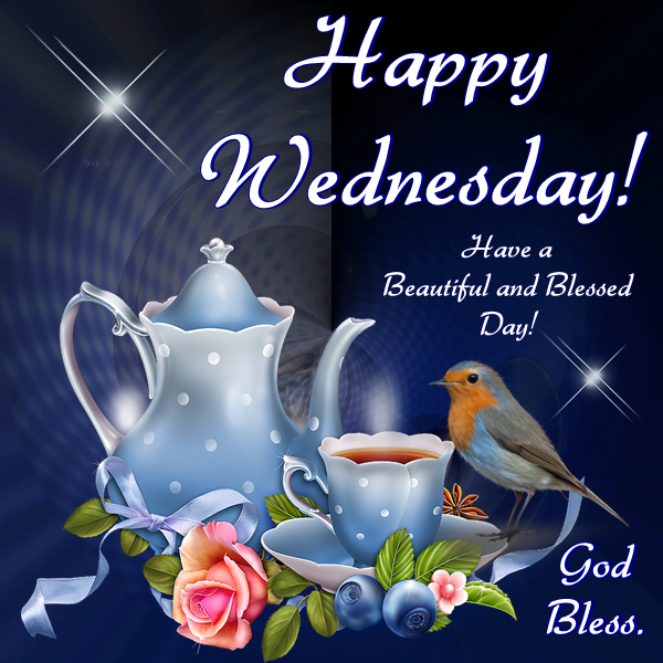 Good Morning, Happy Wednesday. I pray that you have a safe and ...
